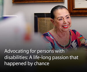 Advocating for persons with disabilities