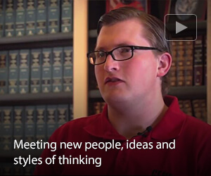 Meeting new people, ideas, and styles of thinking