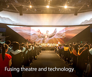 Fusing theatre and technology