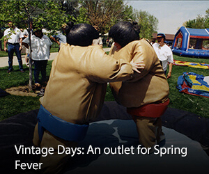 Vintage Days: An outlet for Spring Fever
