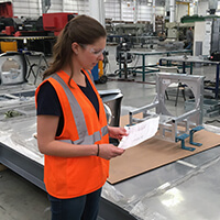 Hannah Moss, Mechanical Engineer