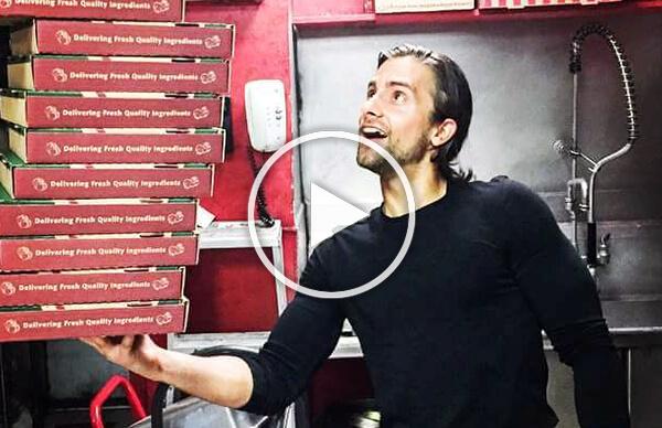 Michael DiNuzzo in Mama Mia's Pizzeria