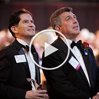 Warren Paboojian at Top Dog Alumni Awards Gala