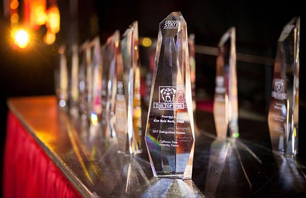 Top Dog Alumni award