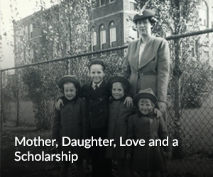 Mother daughter love and a scholarship
